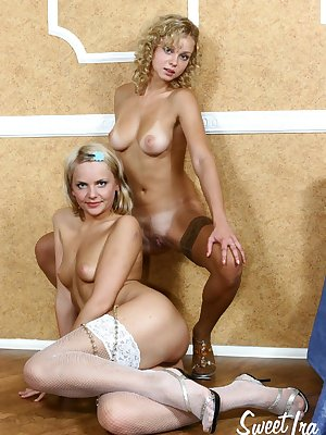 Ira gets dirty with her girlfriend