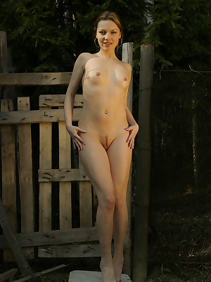 Sveti dazzles us with her nubile body with smooth and creamy skin, puffy breasts, and her sweet yet teasing smile.