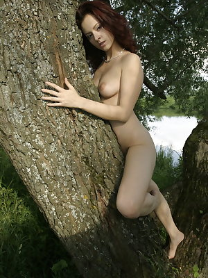 Aleksa B displays her gorgeous nubile body and enjoys a fun, unihibited day at the lake.