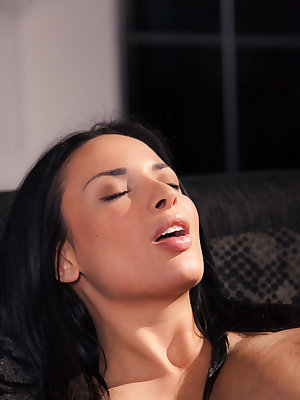 Anissa Kate helps Ena Sweet reach heavenly orgasm