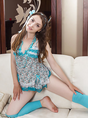 This amazing teen has some great taste in clothing, but she knows when its time to put it down and get naked and naughty.