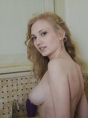 Slim beauty queen enjoys the flush of warm water over her busty tits as well sweet looking crotch. Totally enjoyable collection.