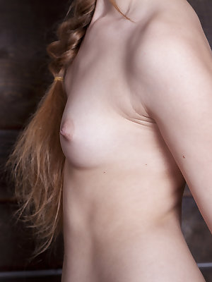 Extraordinary looking chick with tight body, showing swollen crotch in the barn. Exclusive photos about the nude art modeling.
