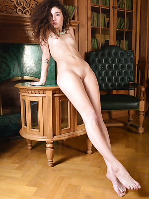 Skinny cutie embraces every bit of her wonderfully shaped body as she shows off in this sexy little solo show.