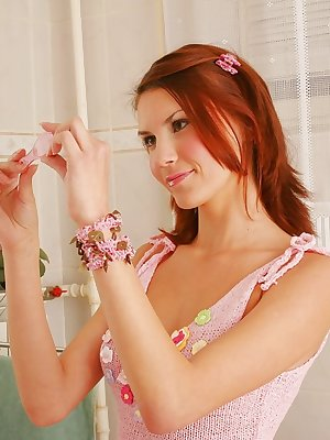 Horny Maura loves demonstrating her sweet juicy tits. The most admirable teen has got nothing to hide.