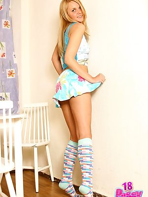 Touching her strip snatch and juicy minge made Lucie get off right during this hot photo shoot.
