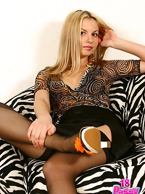 In one of her first photo shoots cute amateur Paris impressed exposing her sweet hairy virgin.