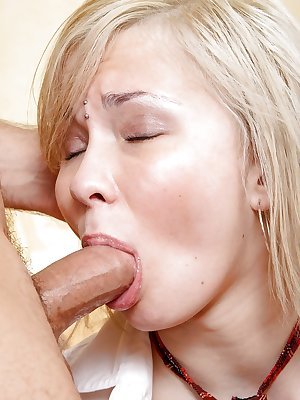 Blonde schoolgirl Sonja P taking a cock in her virgin 18 year old asshole