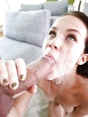Tiny young chick Megan Rain has 18 year old butthole fingered and fucked