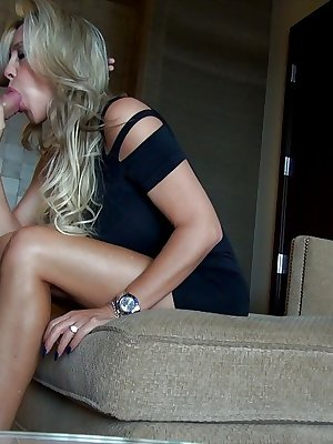 Lustful housewife gets passionately fucked for a cumshot on her tongue