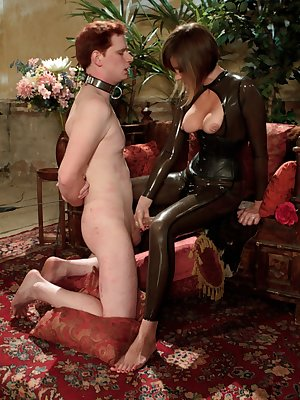 Maitresse Madeline Marlowe delivers orgasm denial treatment in her bare feet
