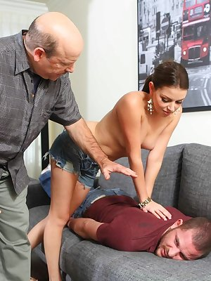 Kinky Missy Stone got cum blasted after being butt fucked really good