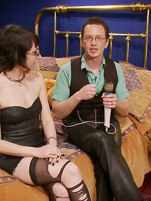 Real life couple demonstrate the relationship between Master and slave