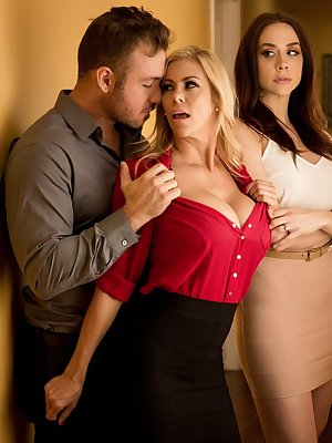 Smoking hot mistresses getting involved in interesting family affairs