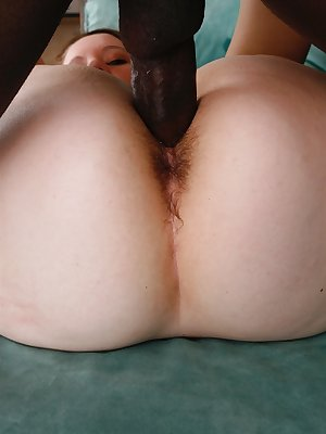 It wasn't a big problem for Lizzie Tucker to get this big black dick in holes