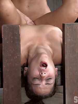 Teen sex slave Ziggy Star gets totally abused by another woman