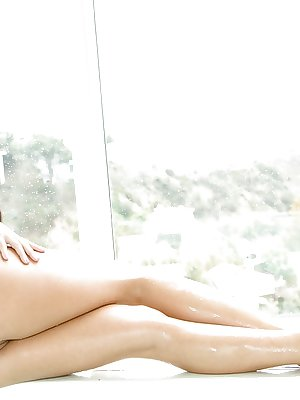 Teen Adriana Chechik demonstrates her truly hot naked boobies